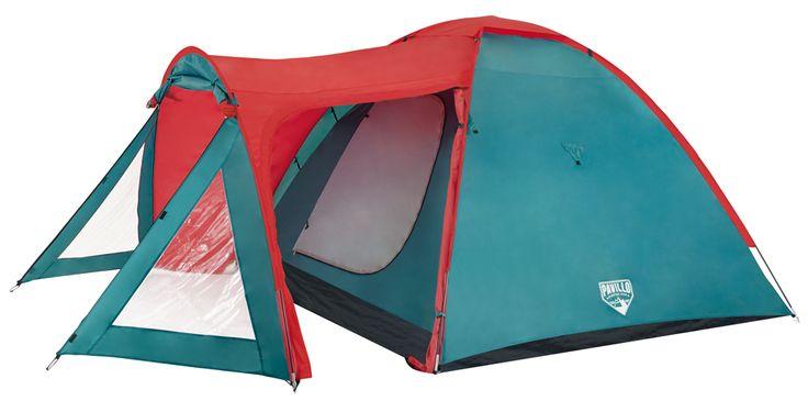 "Bestway 68011 Zelt ""Ocaso X 3 Tent"" (150+225) x 260 x 155 cm   ZELTE   CAMPING   FREIZEIT   Kajak Kanu Elektromotor bei BeachandPool.de online kaufen"