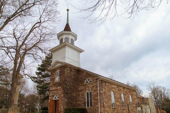 A quaint Canadian church