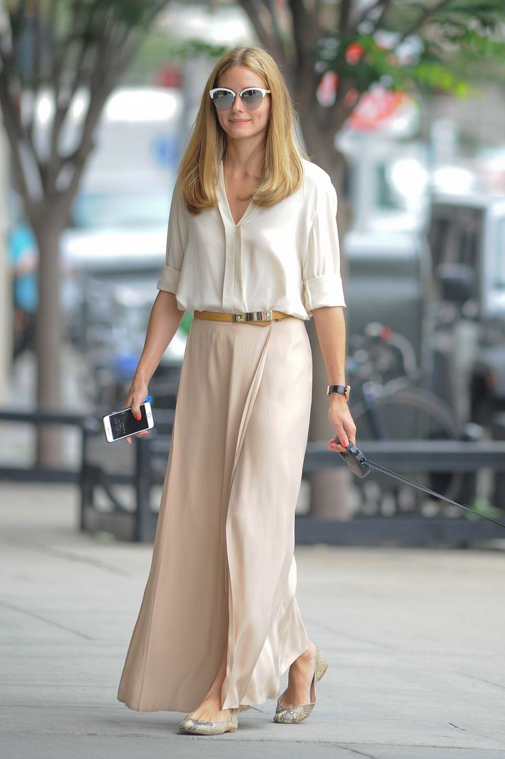 OP The key to wearing head-to-toe neutrals is proportion - July 22, 2015