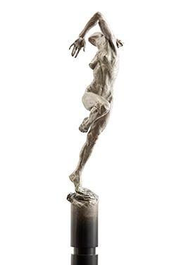 Лето Колонка   Paige Bradley   Бронзовая скульптура