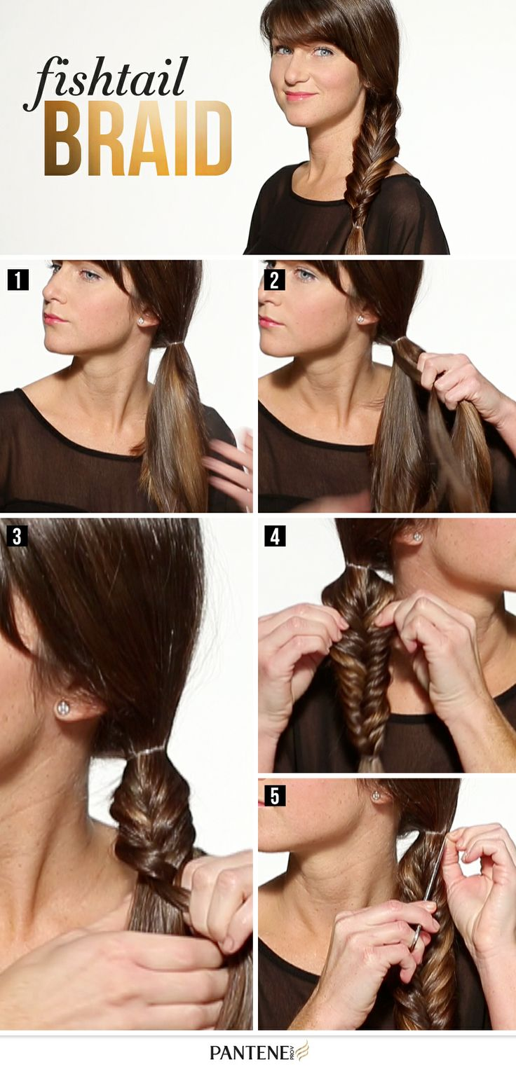 Flirty fishtail FTW! Ready to start braiding? Click though to YouTube for the How-To. #WantThatHair