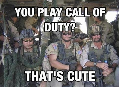 Playing Call of Duty?