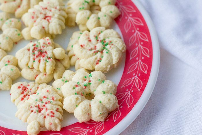 Old Fashioned Classic Spritz Cookies are THE cookie press cookie! If you are looking for an easy and delicious Christmas cookie, this is it!