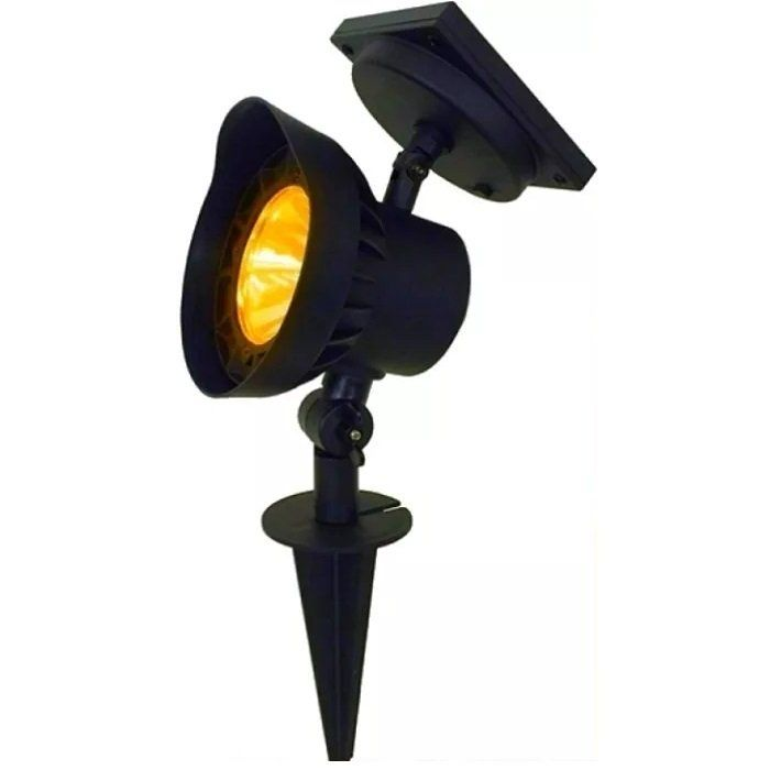 Refletor Luminária Solar Spot Ambar