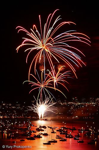 Sydney - New Year Eve Firework - Explore the World with Travel Nerd Nici, one Country at a Time. http://TravelNerdNici.com