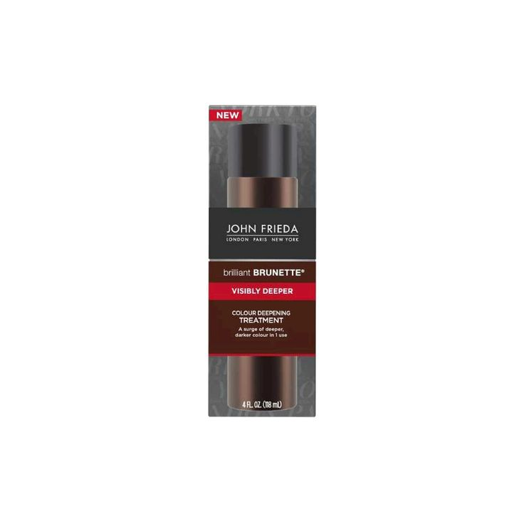 John Frieda Brilliant Brunette Visibly Deeper Colour Deepening Treatment - 4 fl oz