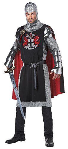 California Costumes Men's Renaissance Medieval Knight Ren Faire Costume, Black/Red, Large/X-Large California Costumes http://smile.amazon.com/dp/B00J48U2O8/ref=cm_sw_r_pi_dp_8xJ3wb1Q8H7WM