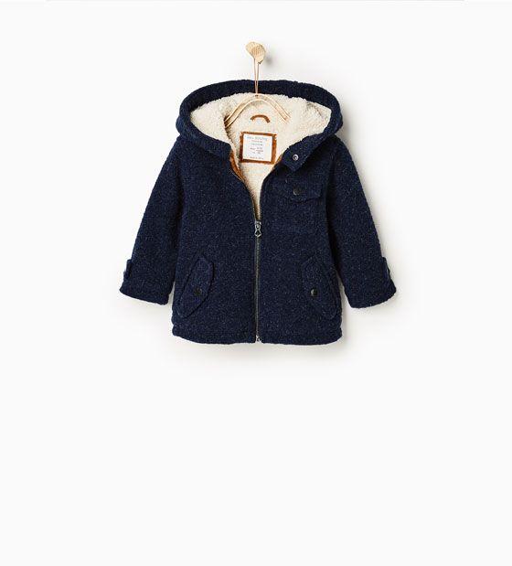 Image 1 de Veste en laine cousue de Zara