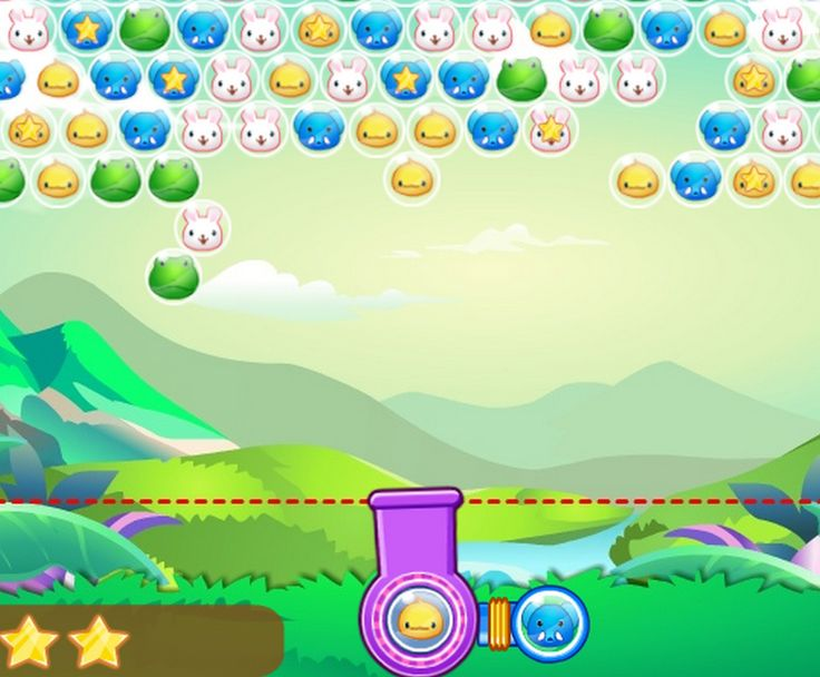 Classic Bubble Shooter game. Shoot up the Zoobies and create a group of 3 or more the same connected Zoobies to remove them. Click on the Shooter to change the Zoobies. Remove as many as indicated to advance to the next level.
