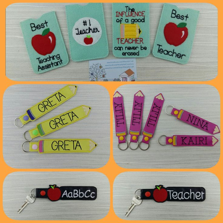 With the children now back to school how many of them will misplace their school bags and library book bags?   The personalised keyrings are a visual addition to their bags and in a pencil shape too.  Added with a couple of other school related items