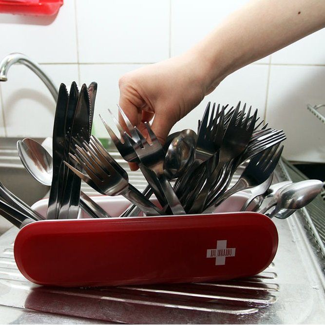 Fancy - Swissarmius Cutlery Holder by Yegor Zhgun