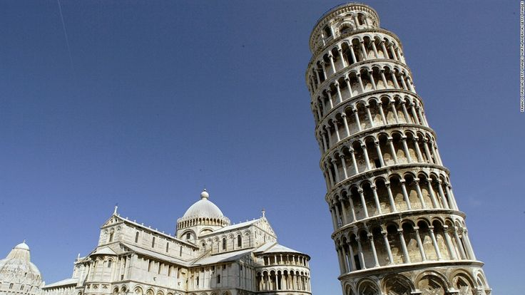Although most famous leaning towers are historical structures,  even modern buildings can start to list -- and it's a difficult problem to fix.  An English architect saved the leaning Tower of Pisa,. Could he save the leaning president of Egypt, Al-Sisi, as well?