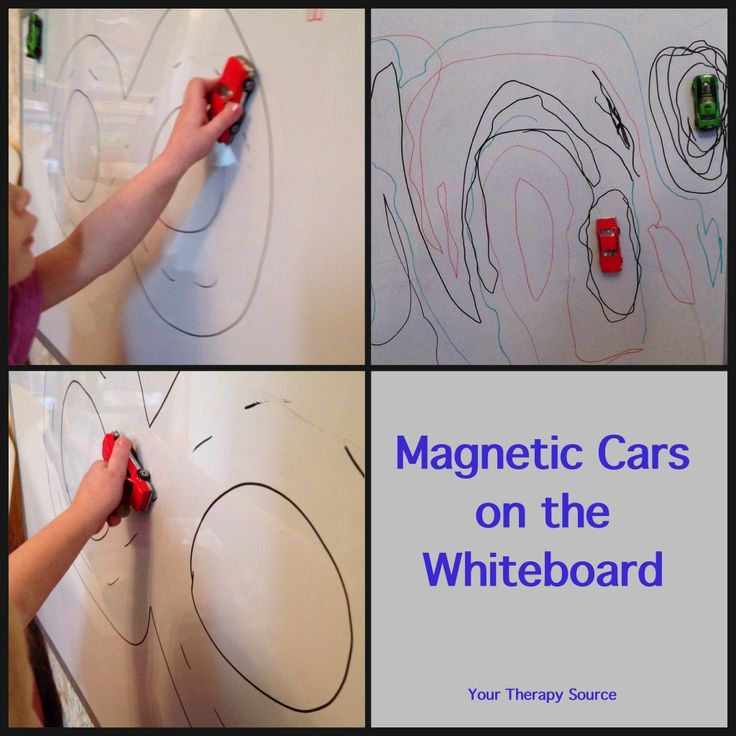 Visual Motor Activity with Cars - magnetic