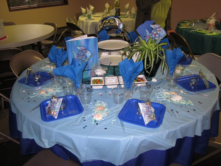 For banquet on pinterest a lady tea parties and the rainbow fish