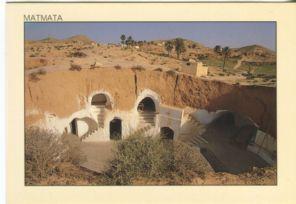 Tunisie Lumiere Postcard, Matmata, Relais des Berberes Hotel, 120