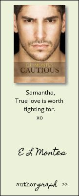 """Authorgraph from E L Montes for """"Cautious (Sequel to Disastrous)"""""""