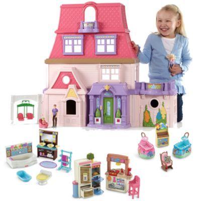 Loving Family Dollhouse Room Starter Gift Set Caucasian