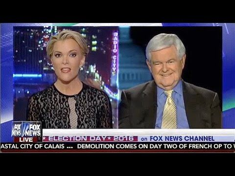 SR1293 – Newt Gingrich BLASTS Fox News' Megyn Kelly Over Her OBVIOUS BIAS Against Donald Trump - YouTube