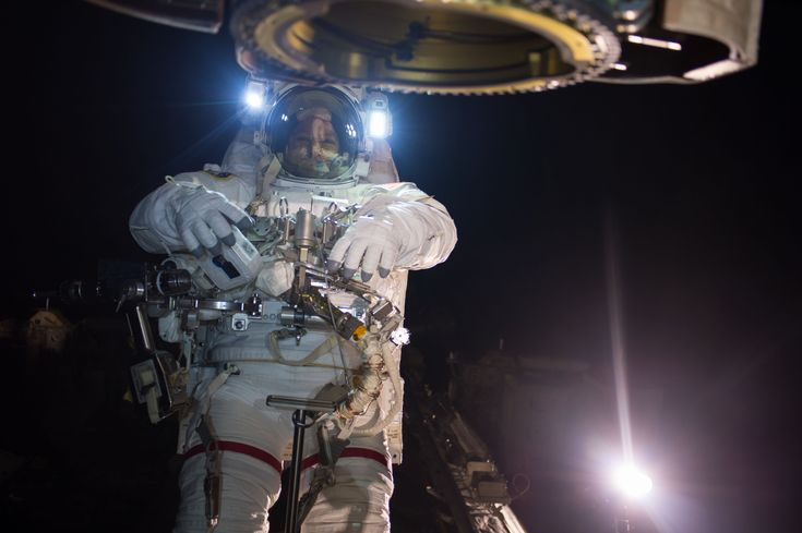 Suited Up for a Day's Work #NASA #ImageoftheDay