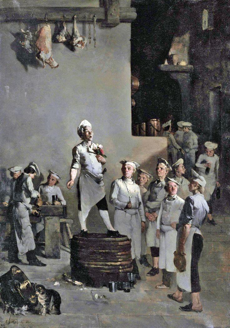 Théodule Augustin Ribot: La Fête du Chef