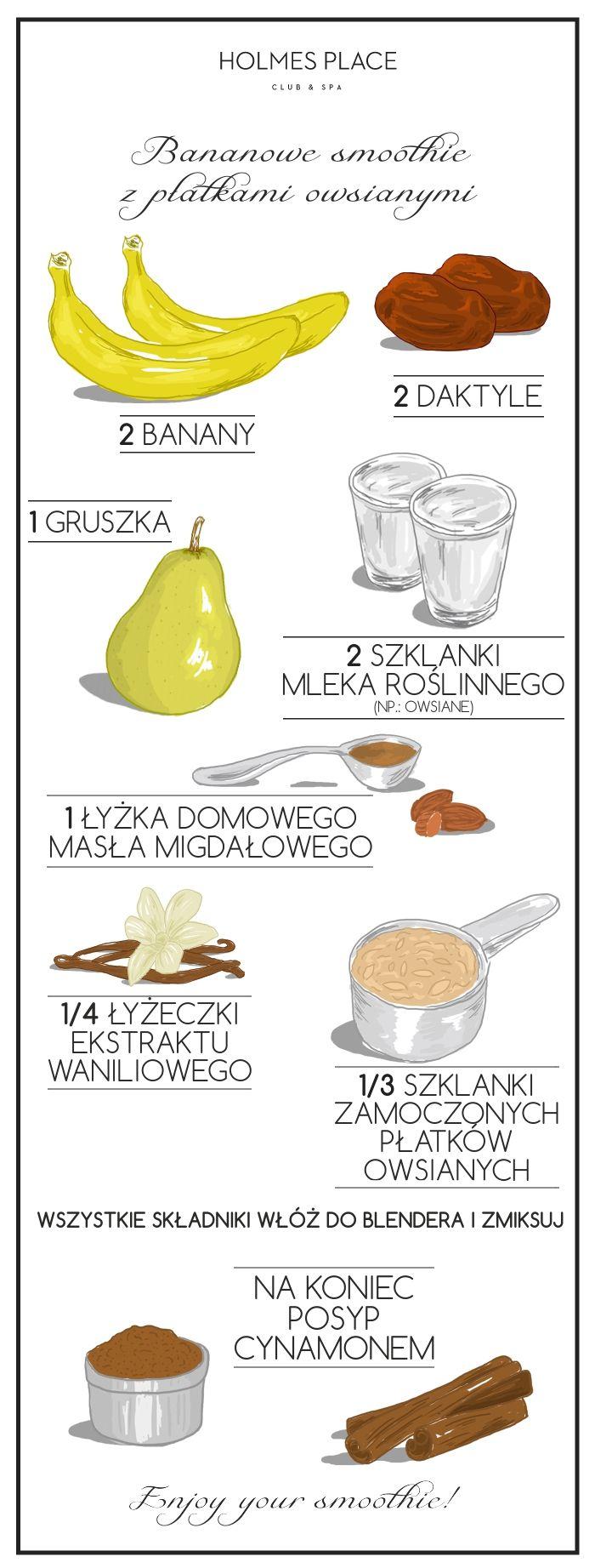 detoks smoothie infografika