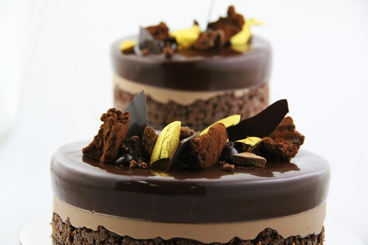 Another amazing entremets from Christophe Adam at Savour Chocolate and Patisserie School #entremets