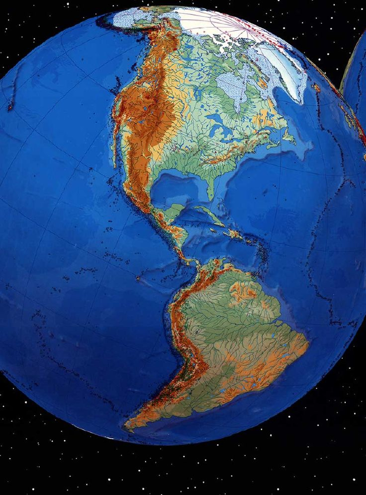 World Earthquake Map - Geology