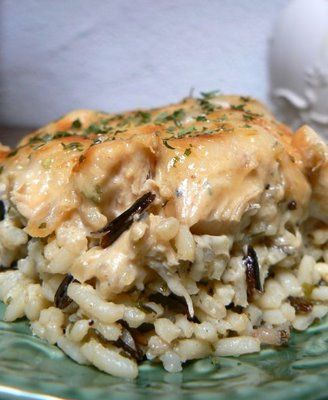 another easy supper idea - gotta love it :) Church Supper Chicken and Wild Rice Hot Dish