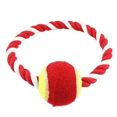 Aus der Kategorie Welpenspielzeug  gibt es, zum Preis von   Für:Hunde,<br />Typ:Kau-Spielzeug,<br />Material:Gewebe,<br />Farbe:Rot,<br />Maße (cm):18*18*2,<br />Netto Gewicht (kg):0.1,<br />