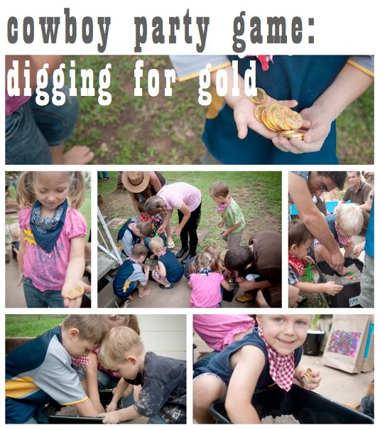 Kids cowboy birthday party | Party planning and DIY on a budget
