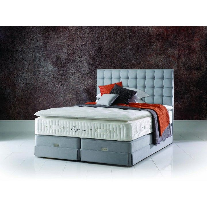 Hypnos Regal Elegance Super King Size Zip & Link Divan Bed for £4,432.70