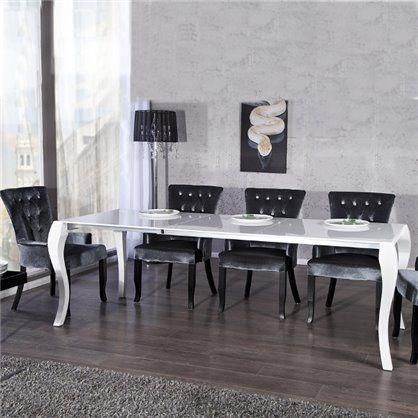 Stół Barok 170-230 biały, rozkładany