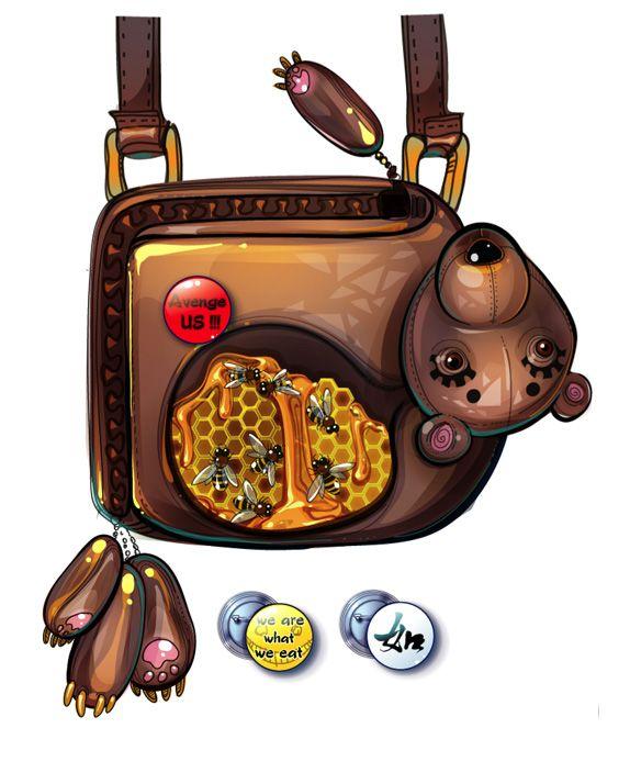 Handbag - Bear