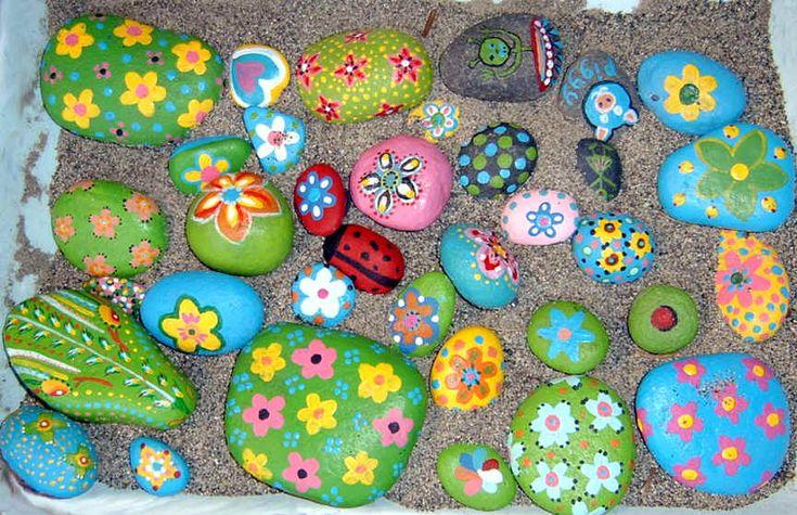 Stones paintings painted rocks paintings stonesrock rocks art