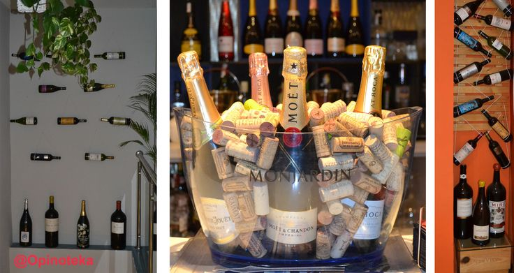 Detalles de la decoración con botellas del Restaurante Antonio en Alcocéber (Castellón)