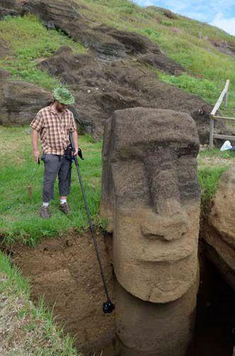 Les statues de l'île de Pâques ont un corps… Les photos de cette découverte sont incroyables !