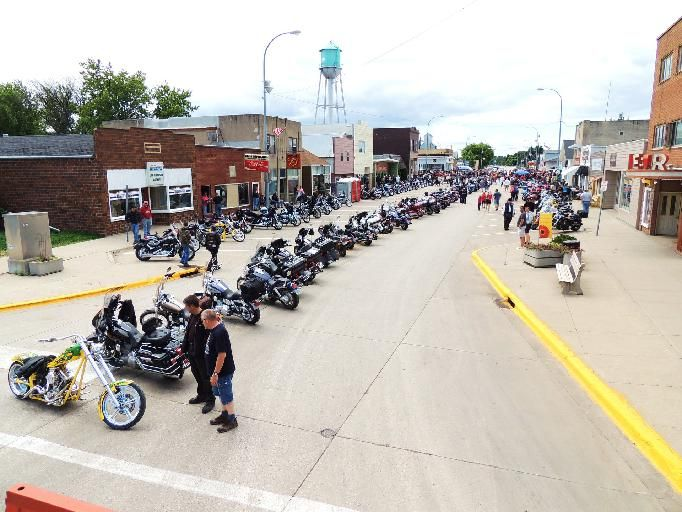 """Welcome to the """"Little Sturgis of the North""""! One weekend a year this small northern North Dakota town becomes one of the hottest biker events in the state.   ~Cavalier, North Dakota"""