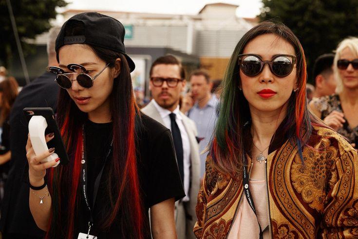 Самые стильные мужчины на выставке Pitti Uomo   Vogue Ukraine