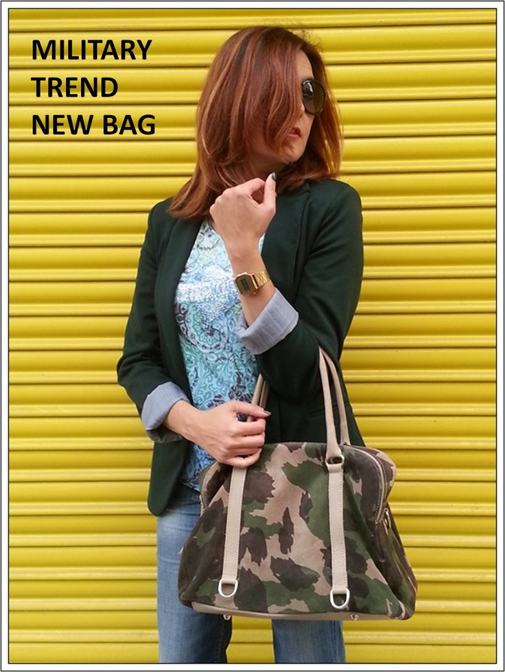 My new military new bag...Yes!
