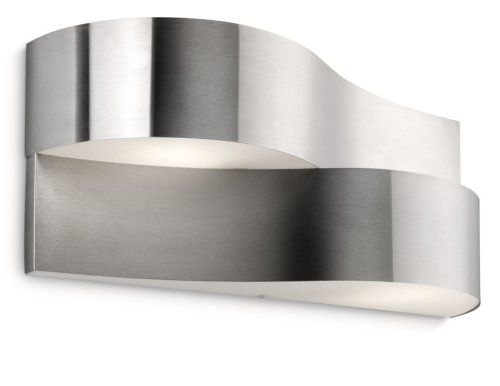 Philips Ecomoods Oriole Outdoor Wall Light Stainless Steel (Includes 2 x 11 Watts E14 Bulb) Philips http://www.amazon.co.uk/dp/B00BG5C70Y/ref=cm_sw_r_pi_dp_CbCZwb0Y64V75