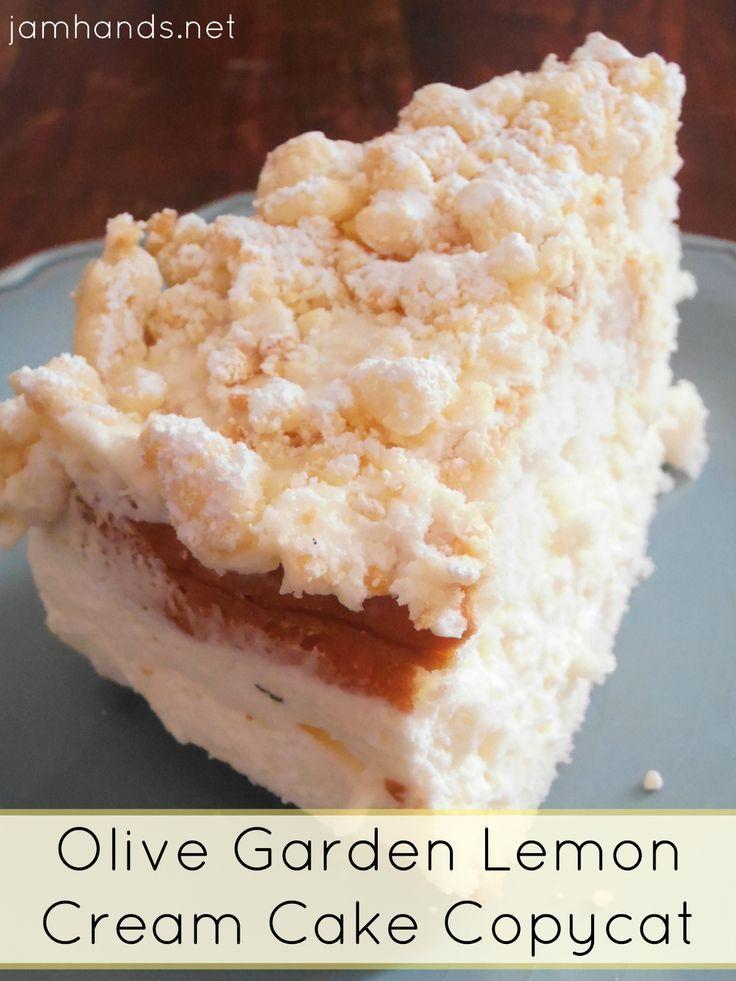 Pin by jenn sweet t makes three on copycat recipes - Olive garden lemon cream cake recipe ...