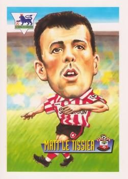 1996-97 Merlin's Premier League #50 Matthew Le Tissier Front