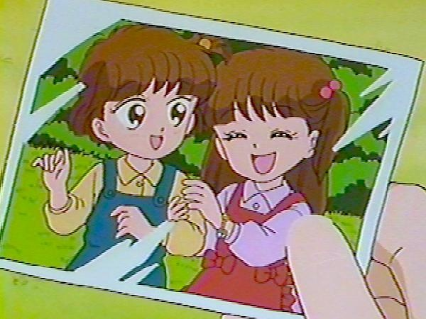 Little Tomomi and Mikage from Miracle Girls