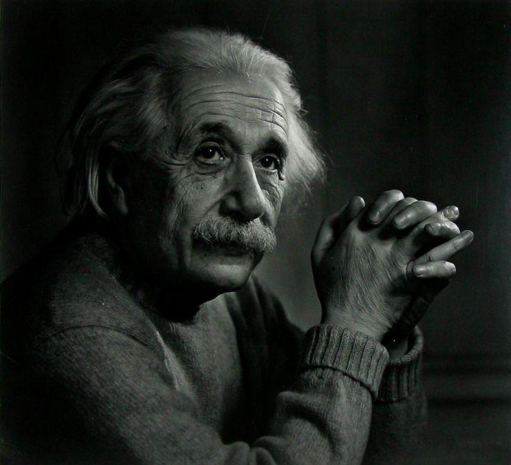 Albert Einstein Portrait by Yousuf Karsh