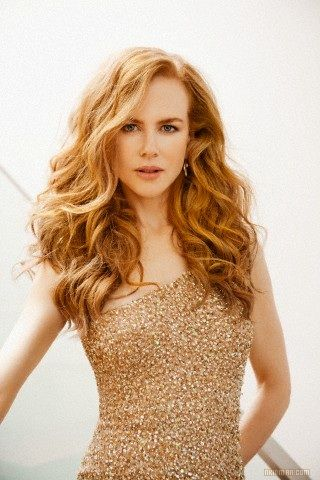 Nicole Kidman - a Spring wearing her right colour. Soft gold tones in beautifully with her hair and skin #fashion memberdiscountcodes.com