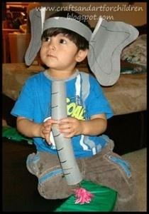 Dr. Seuss Ideas, I especially love the Horton ears and trunk