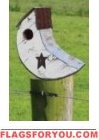 Crescent Moon Birdhouse