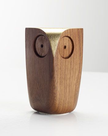 Owl  Walnut  Gold