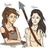 Brenda and Teresa :)