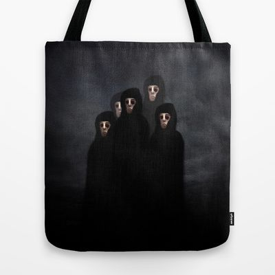 The meeting. Tote Bag by Viviana Gonzalez - $22.00